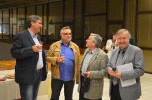 С проф. Карафезлиев, проф. Филип Павлов и проф. Марин Вълчанов