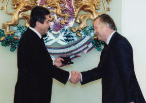 с президента Първанов